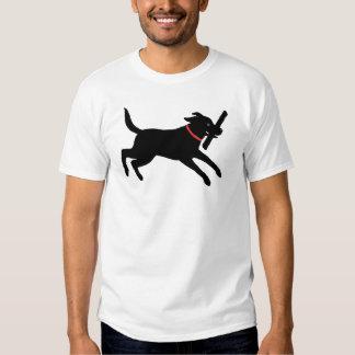 Labrador retriever (negro) playeras