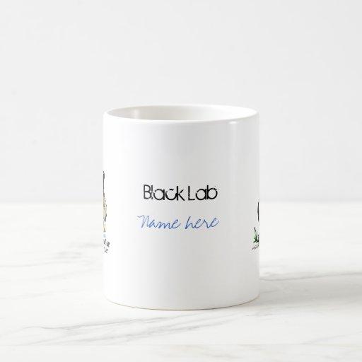 Labrador retriever - negro taza