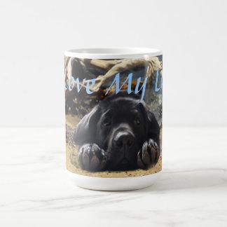 Labrador Retriever On Beach Mug