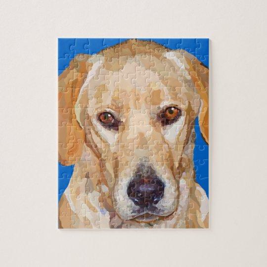 Labrador Retriever Painting Puzzle