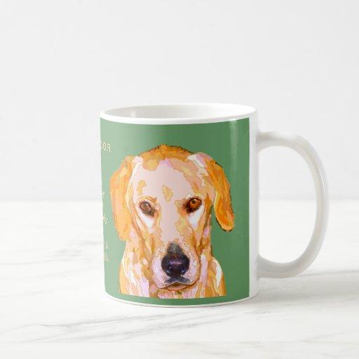 Labrador Retriever Personality Mug
