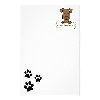 Labrador retriever personalizado  papeleria