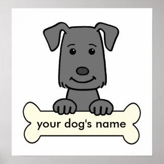 Labrador retriever personalizado póster