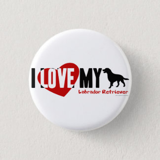 Labrador Retriever Pinback Button