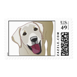 Labrador Retriever Postage