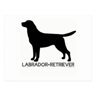 Labrador Retriever Postcard
