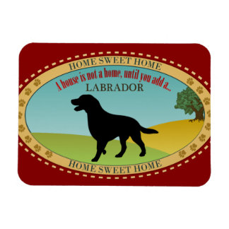 Labrador Retriever Rectangular Photo Magnet