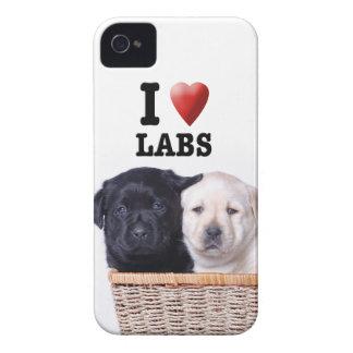 Labrador retriever puppies iPhone 4 case