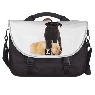 Labrador Retriever Puppies Playing Bags For Laptop