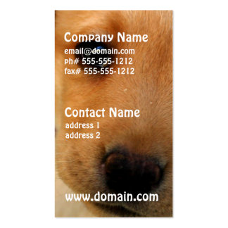 Labrador Retriever Puppy Business Card