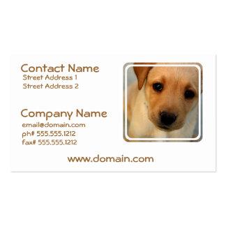 Labrador Retriever Puppy Business Cards