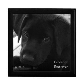 Labrador Retriever Puppy Keepsake Box