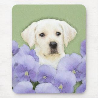 Labrador Retriever Puppy Painting Original Dog Art Mouse Pad