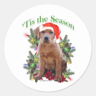 Labrador Retriever Puppy 'Tis the ... - Sticker