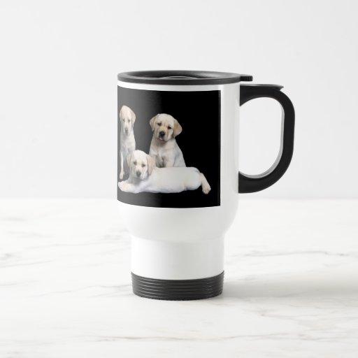 Labrador Retriever Puppy Travel Mug