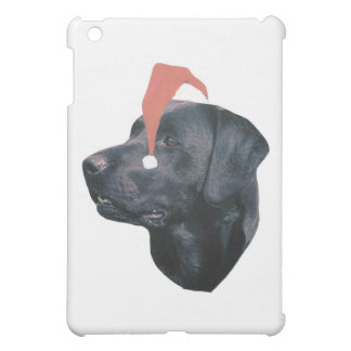 Labrador Retriever Santa Hat Cover For The iPad Mini