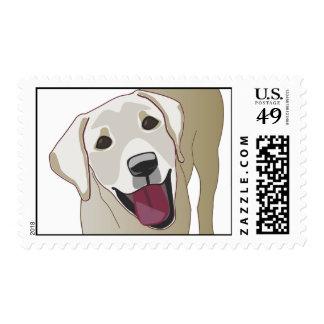 Labrador retriever sellos postales