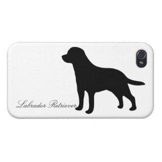 Labrador Retriever silhouette dog iphone 4 case