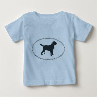 Labrador Retriever Silhouette Infant T-shirt