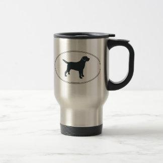 Labrador Retriever Silhouette Travel Mug