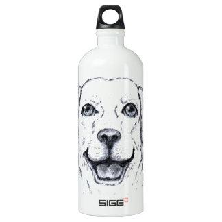 Labrador Retriever Smiling Dog SIGG Traveler 1.0L Water Bottle