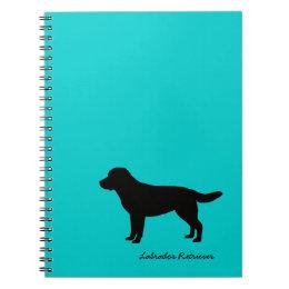 Labrador Retriever Spiral Notebook