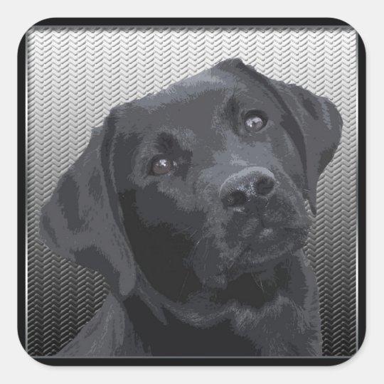 Labrador Retriever Square Sticker