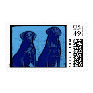 Labrador Retriever Stamps