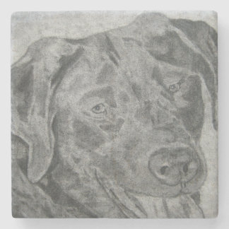 Labrador Retriever Stone Coaster