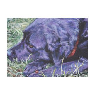 Labrador Retriever stretched canvas
