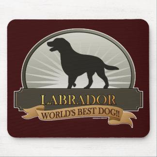 Labrador retriever alfombrillas de raton