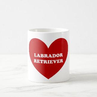 Labrador retriever taza clásica