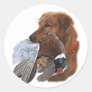 Labrador Retriever The Ultimate Bird Dog Classic Round Sticker