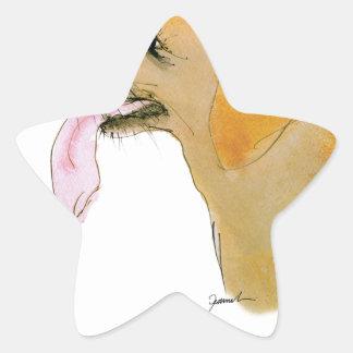 Labrador Retriever, tony fernandes Star Sticker