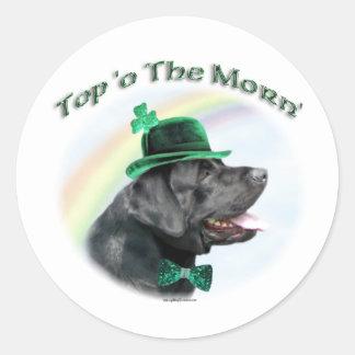 Labrador Retriever Top of the Morn - Sticker