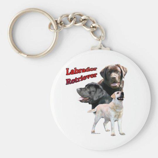 Labrador Retriever Trio 2 - Keychain