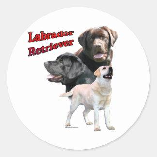 Labrador Retriever Trio 2 - Sticker