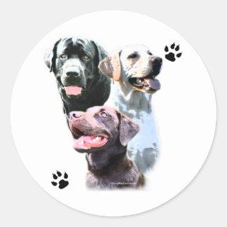 Labrador Retriever Trio - Sticker