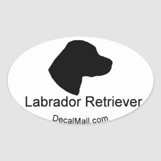 Labrador Retriever Window Decal Stickers