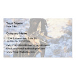 Labrador Retriever with Drake Mallard Double-Sided Standard Business Cards (Pack Of 100)