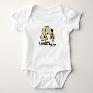 Labrador Retriever - Yellow Baby Bodysuit