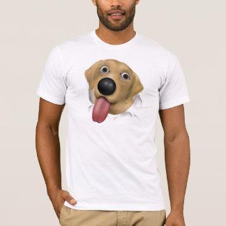 Labrador Retriever (Yellow) Busting Out T-Shirt
