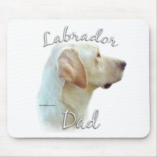 Labrador Retriever (yellow) Dad 2 Mouse Pad
