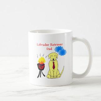 Labrador Retriever Yellow - Dad Mug
