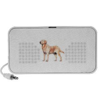 Labrador Retriever Yellow Doodle iPhone Speakers