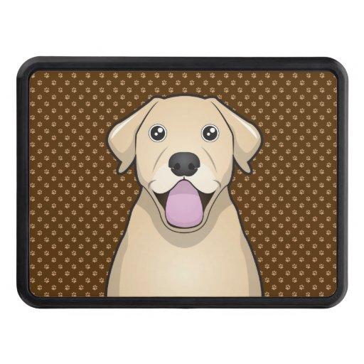 Labrador Retriever (Yellow Lab) Cartoon Paws Hitch Covers