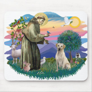 Labrador Retriever (yellow) Mouse Pad