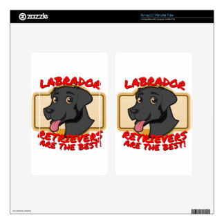 Labrador Retrievers are the best! Skin For Kindle Fire