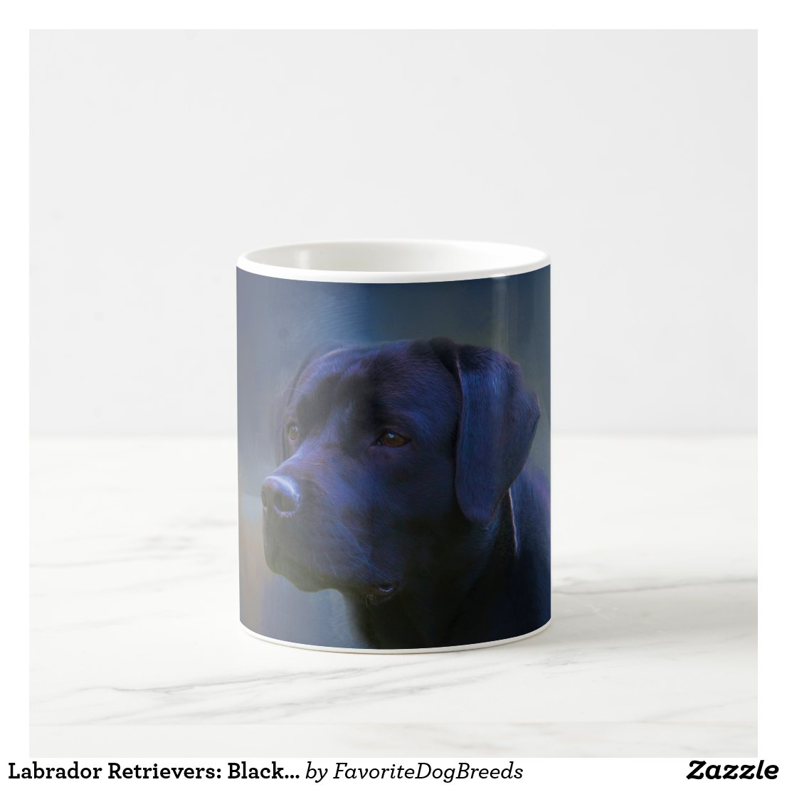 Black Lab Coffee Mugs for dog lovers