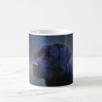Labrador Retrievers: Black Lab Dog Coffee Mug for Dog Lovers